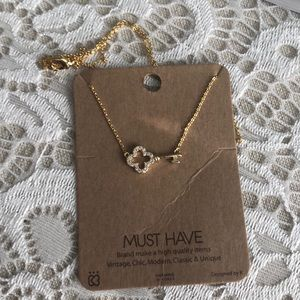 NWT Gold Key Necklace